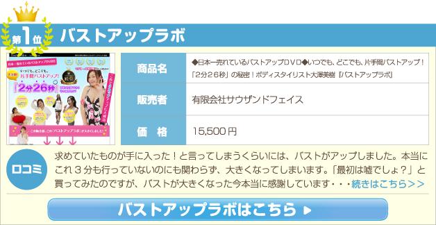 ◆日本一売れているバストアップDVD◆いつでも、どこでも、片手間バストアップ!「2分26秒」の秘密!ボディスタイリスト大澤美樹『バストアップラボ』